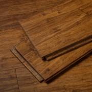 Brushed Amber Stiletto Strand Bamboo Flooring